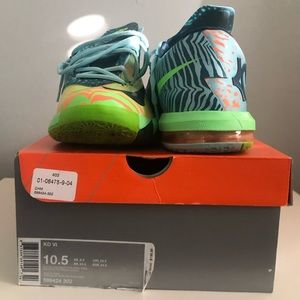 KD VI Animal Print Electric Green AtomicOrange BOX
